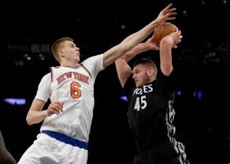 Resumen del New York Knicks - Minnesota Timberwolves