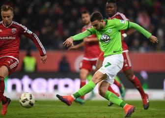 ¡Borja Mayoral consigue su primer gol con el Wolfsburgo!
