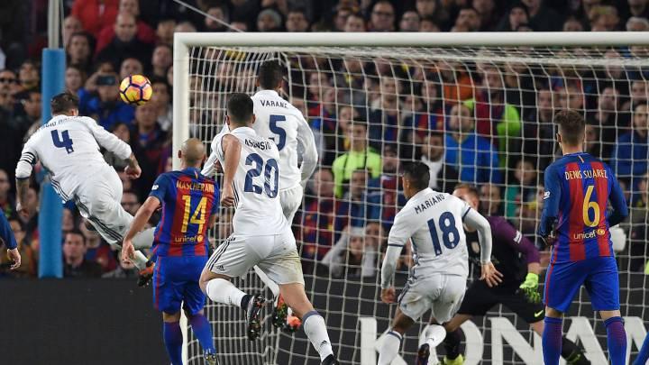Otro cabezazo para la historia: Sergio Ramos lo volvió a hacer