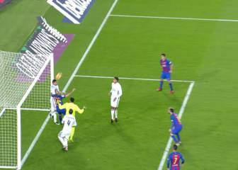 Casemiro en plan salvador: evitó el gol en la última jugada