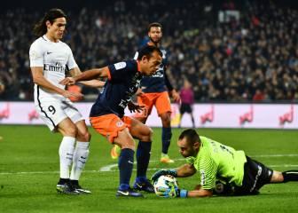 Un gran Montpellier frena al PSG de Unai Emery