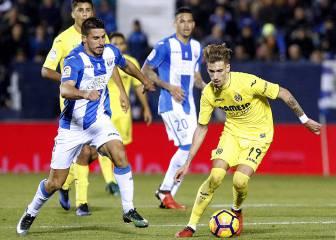 El Leganés le rasca un empate a un Villarreal sin gol
