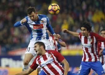 Un Atlético sin gol empata en casa ante el Espanyol