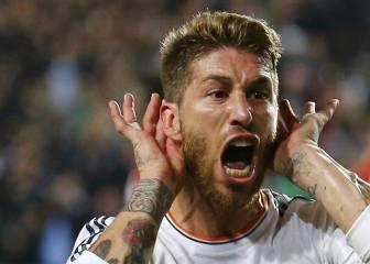 Ramos, amo y señor del 90´: sus goles claves con el Madrid