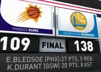 Resumen del Golden State Warriors - Phoenix Suns