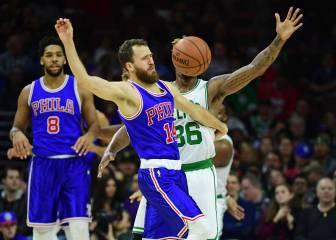 Resumen del Philadelphia 76ers - Boston Celtics