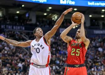 Resumen del Toronto Raptors - Atlanta Hawks de la NBA