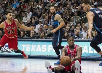 Resumen del Dallas Mavericks - Chicago Bulls de la NBA