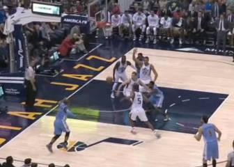 Resumen del Utah Jazz - Denver Nuggets de la NBA
