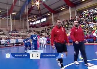 Movistar Inter FS 5 - Santiago Futsal 2