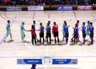 Levante UD FS 1 - FC Barcelona Lassa 5