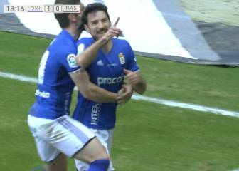 Toché somete al Nástic y el Oviedo sigue firme en casa