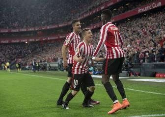 Resumen y goles del Athletic-Eibar de la jornada 14