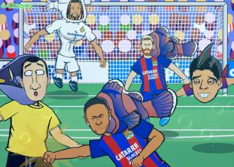 La parodia del Clásico se ríe de Clos y el pez payaso Neymar