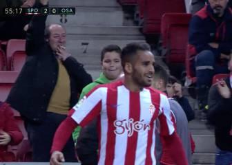 Vean el gol de Douglas que le hizo trending topic en España