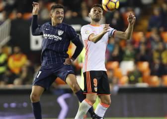 Resumen y goles del Valencia-Málaga de la jornada 14