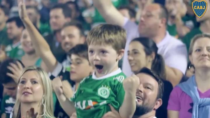 Esto es un homenaje: el vídeo de Boca para Chapecoense
