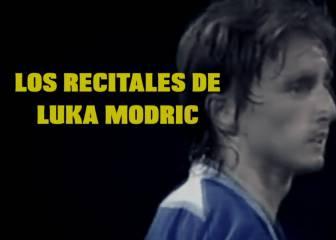 Lo de Modric viene de lejos: 4 recitales del mago croata