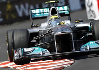 Primera toma de contacto entre Mercedes y Alonso