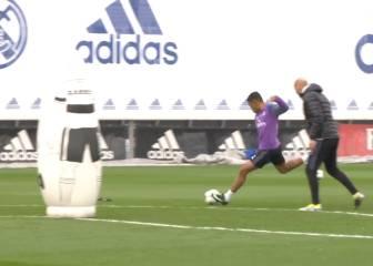 Uno de los mejores goles vistos en Valdebebas: Mariano 'on fire'