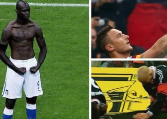 De Totti a Balotelli: las 10 celebraciones más top