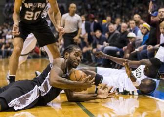 Resumen del Milwaukee Bucks - San Antonio Spurs de la NBA