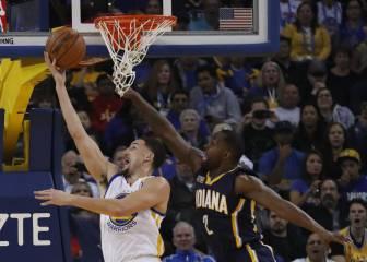 Resumen del Golden State Warriors - Indiana Pacers