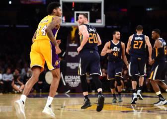 Resumen de Los Angeles Lakers - Utah Jazz
