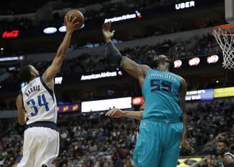 Resumen del Dallas Mavericks - Charlotte Hornets