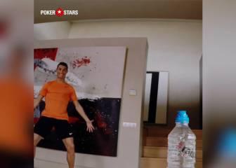 El truco de Cristiano con la botella ¿Realidad o 'Fake'?