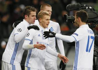 El Dinamo de Kiev sorprende con una goleada al Besiktas
