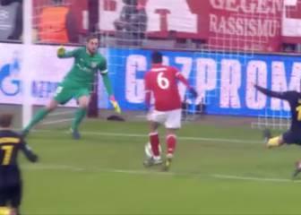 Thiago no se lo podía creer... ¡Pero cómo pudo fallar ese gol!