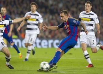 Así fue el fallo de Alcácer que desesperó al Camp Nou