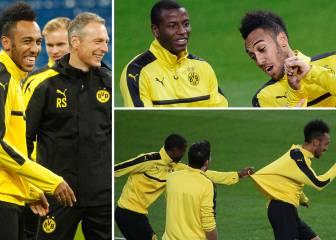 Aubameyang, taconazos y pura felicidad en el Bernabéu