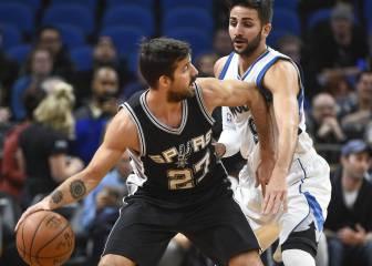 Resumen del Minnesota TWolves - San Antonio Spurs