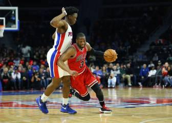 Resumen del Detroit Pistons - Chicago Bulls de la NBA