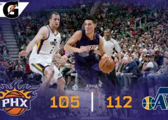 Resumen del Utah Jazz - Phoenix Suns de la NBA