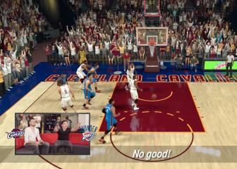 Bellerín 'vestido' de Westbrook en su duelo en el NBA 2K17