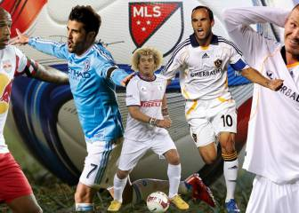 Impresiona el XI histórico de la MLS: Villa, Henry, Beckham...