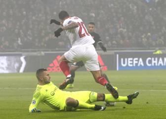 El penalti a Vitolo que hubiera allanado el camino sevillista