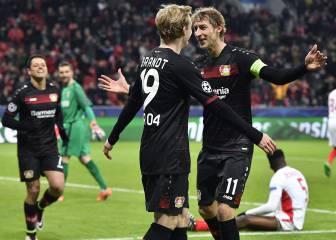 El Leverkusen gana un partido sin historia al Mónaco
