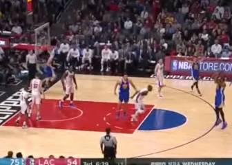 Así vacilaron los Warriors de Curry a los pobres Clippers