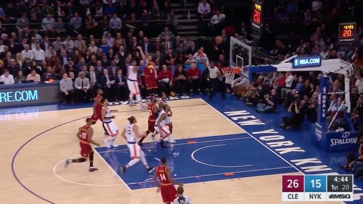 Los Cavaliers son imparables: 22 triples contra los Knicks