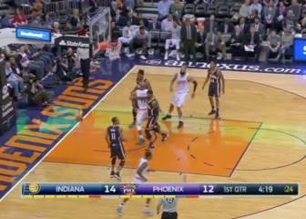 Resumen de Phoenix Suns - Indiana Pacers