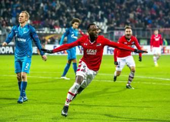 Resumen y goles del AZ Alkmaar-zenit de la Europa League