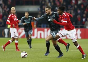 Resumen y goles del Lieja-Ajax de la Europa League