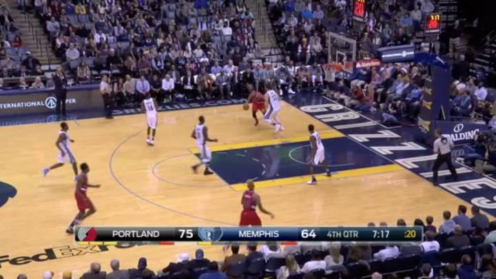 Resumen de Memphis Grizzlies - Portland Trail Blazers