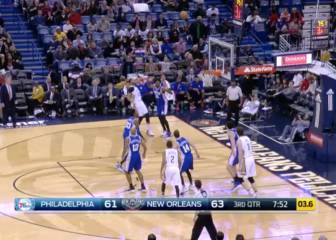 Resumen de New Orleans Pelicans- Philadelphia 76ers