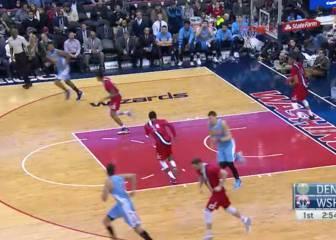 Resumen de Washington Wizards - Denver Nuggets
