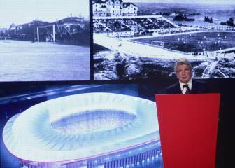 Así anunció Enrique Cerezo el nombre para el nuevo estadio
